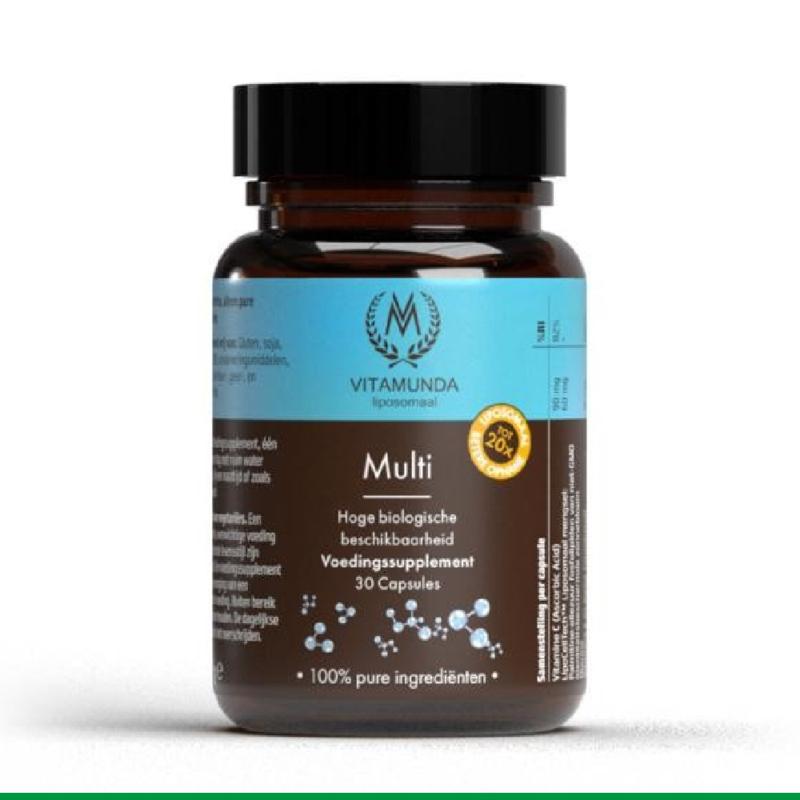 Vitamunda - Lyposomale Multi - 30 capsules