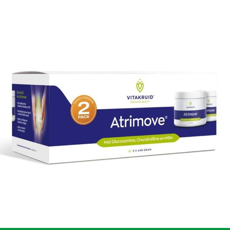 Atrimove Granulaat 2 Pack   Vitakruid   2 x 440 g