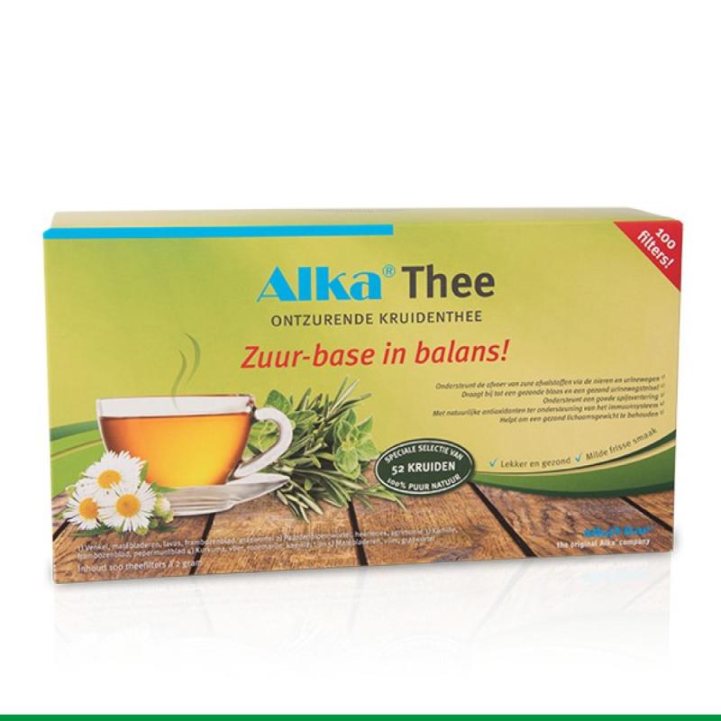 Alka® Thee: Ontzurende Kruidenthee  - 100 filterzakjes