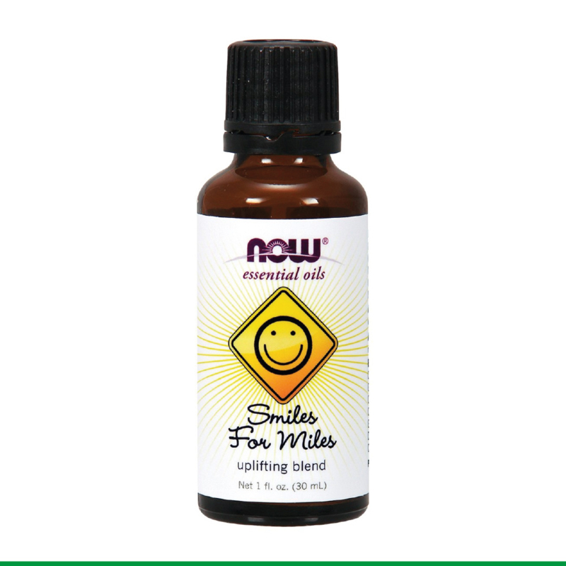 NOW - Etherische olie - Smiles for Miles, Uplifting Blend, 30 ml