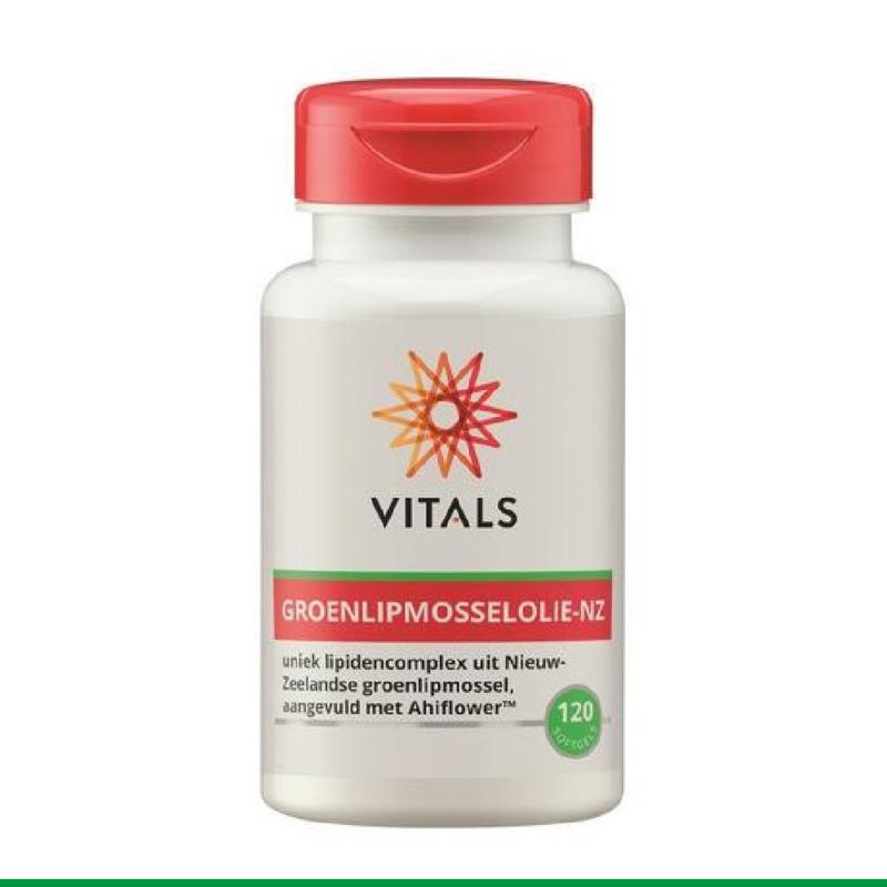 Vitals Groenlipmosselolie-NZ 120 softgels