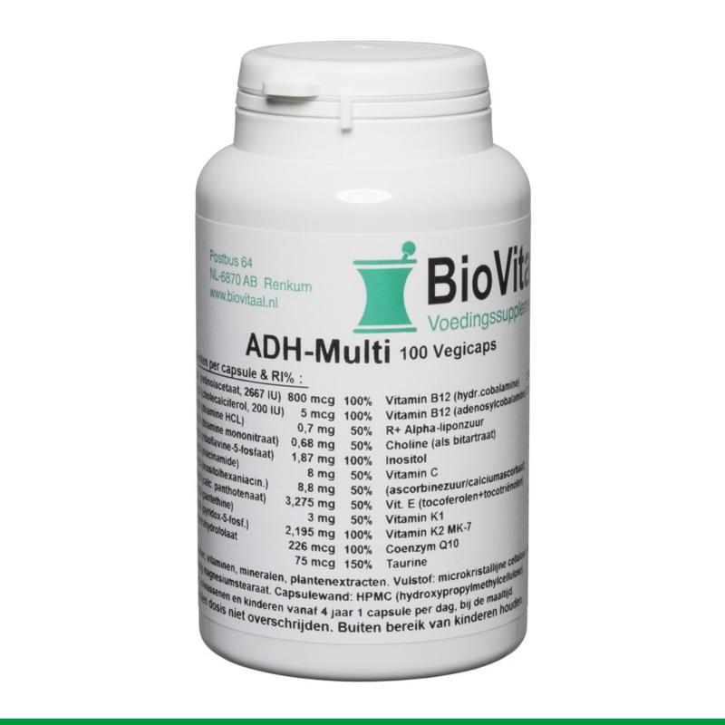 Biovitaal - ADH Multi 100 vegetarische capsules