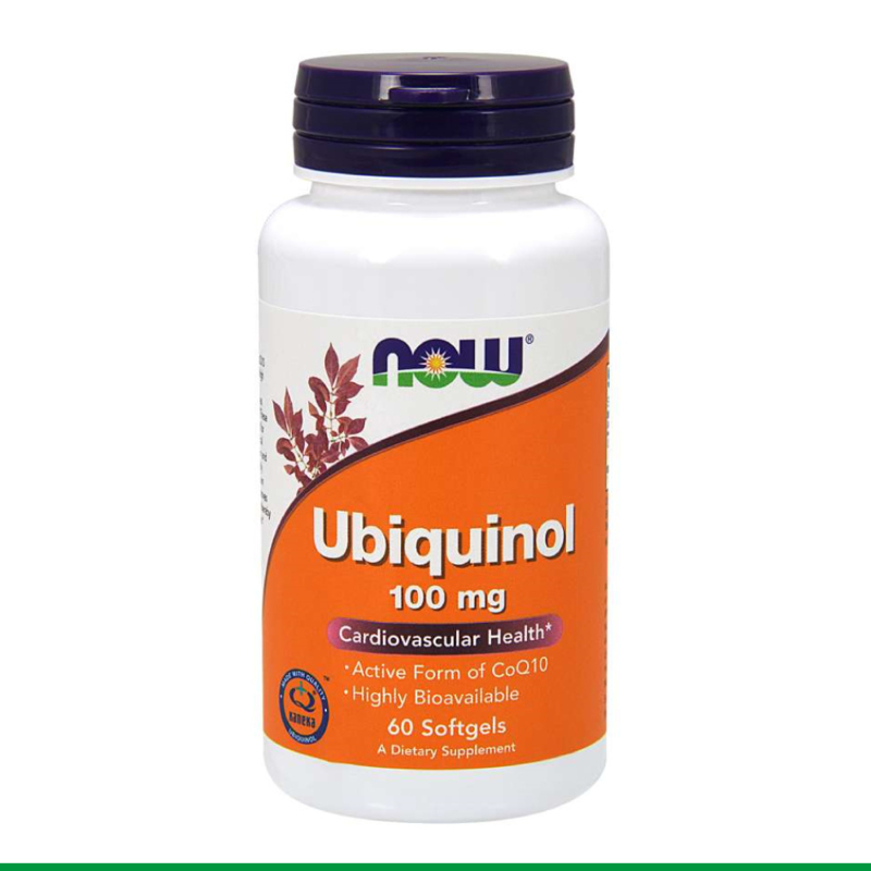 NOW - Ubiquinol 100mg | 60 softgels