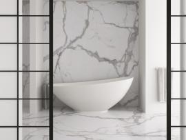 Kalos Bianco 100x300cm, 5mm, gerectificeerd