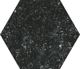 Mons Black Hexagon 22x25cm