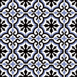 Cosenza Azul 22,5x22,5cm