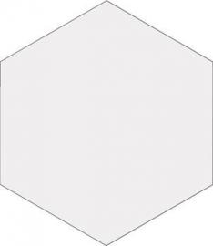 Hexa White 23x27cm