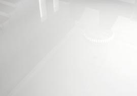 Bach white polished 90x90cm