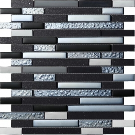 Quartz black, 30x30cm