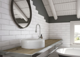 Colonial white mat 7,5x30cm