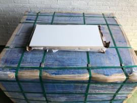 pallet, 81m2, wandtegel wit glans, gerect. 30x60cm