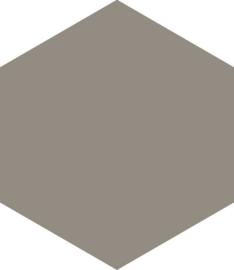Hexagon slategrey 17,5x20,2cm