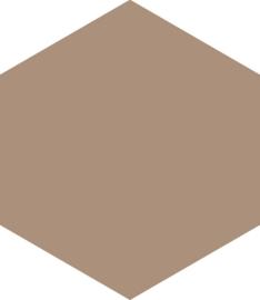 Hexagon earth 17,5x20,2cm