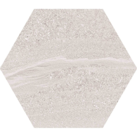 Hexagon Arosa Gris 22,5x25,9cm