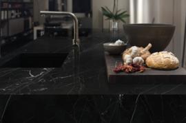 Negro Marquina glans, 100x300cm, 6mm