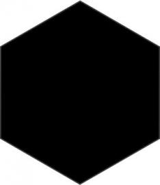 Hexa Black 23x27cm