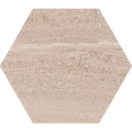 Hexagon Arosa Beige  22,5x25,9cm
