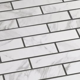 Calacatta Brick mat  6x24cm