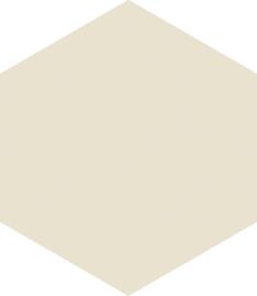Hexagon white 17,5x20,2cm