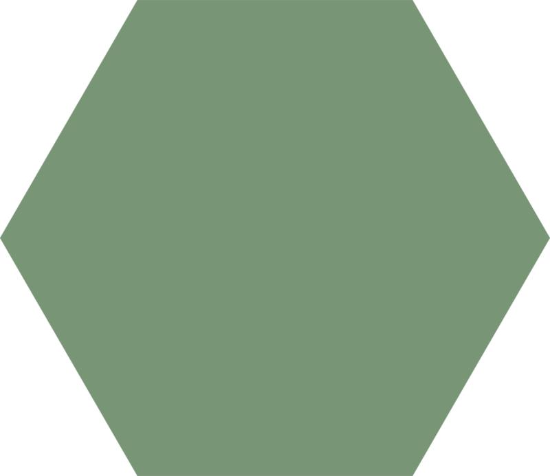 Basis Forest Hexagon 22x25cm