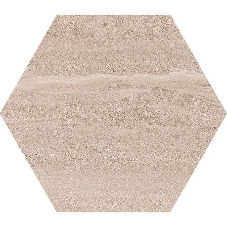 Hexagon Arosa Beige  22,5x25,9cm