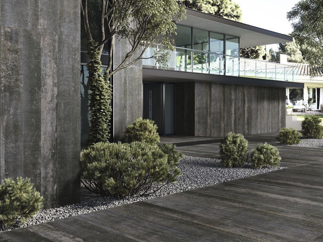 Terrastegels met betonlook