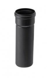 Rookgasafvoer PP 80 mm - 0,25 meter
