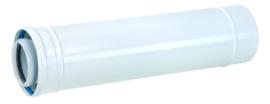 Kunststof PP120/metaal wit