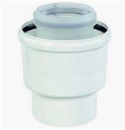 Ubbink Rolux Adapter 100/150 (MM) - 110/160 (FF) PP/aluminium