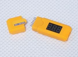 LiPo/LiFe per cel voltmeter