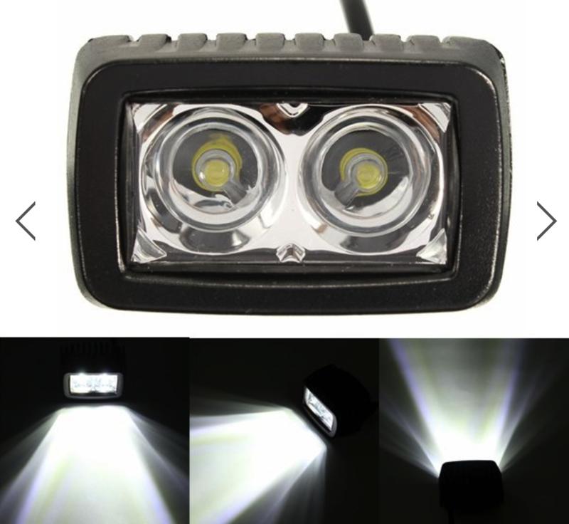 Verstraler, Dual Power LED, Black edition