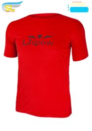 UGLOW-SL | T-SHIRT SUPERSPEED AERO | RED/BLACK