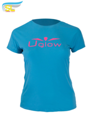 UGLOW-SL | T-SHIRT SUPER LIGHT WOMEN | LUCHTBLAUW