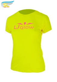 UGLOW-SL | T-SHIRT SUPER LIGHT WOMEN | GEEL