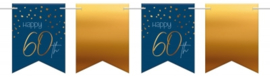 Vlaggenlijn Elegant True Blue 60 jaar