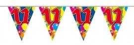 Vlaggenlijn, Slinger Balloons 11 Jaar /10Mtr