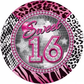 Bord Sweet 16 23cm /8st