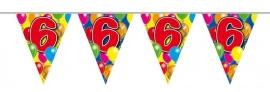 Vlaggenlijn, Slinger Balloons 6 Jaar 10Mtr