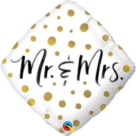 Gold Dots MR & MRS - 45 cm Artikelnummer: 57334