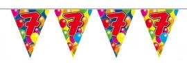 Vlaggenlijn, Slinger Balloons 7 Jaar 10Mtr
