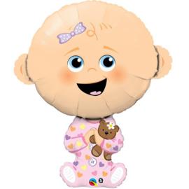 """Baby Girl - Q38""""/96cm (1 Stuk) Artikelnummer: 43362"""