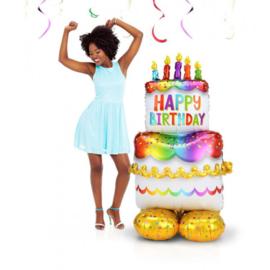 Airloonz - Birthday Cake - 68 x 134 cm Artikelnummer: 4244911