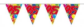 Vlaggenlijn, Slinger Balloons 85 Jaar /10Mtr