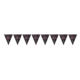 Vlaggenlijn, Slinger Sparkling Happy Birthday / 4mtr