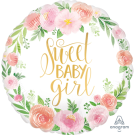 """sweet baby girl - 18""""/43cm Art.nr: 38515"""