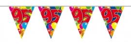 Vlaggenlijn, Slinger Balloons 95 Jaar /10Mtr