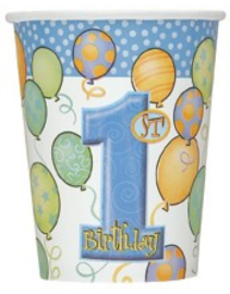 Beker a8 1st Blue Balloons