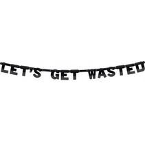 Letterslinger Let's Get Wasted 2,5 meter