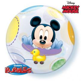 """BUBBLE Baby Mickey - 22""""/56cm (1 Stuk) Artikelnummer: 16432"""