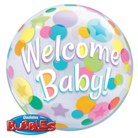 BUBBLE Welcome Baby Colourful Dots/56cm Art.nr: 25860